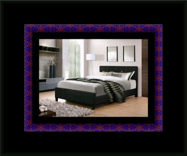 Full platform bed with box spring