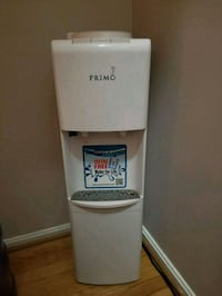 white Primo hot and cold water dispenser Halethorpe, 21227