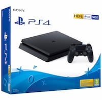 PlayStation 4 slim 500 GB Oslo, 1087