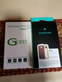 Red case and screen protector LG G3 smartphone box 60 km