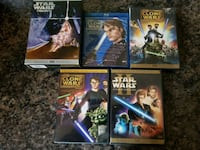 Star Wars DVDs and Blu-rays Cicero