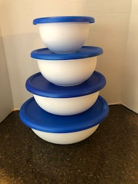Set of 4 Sterilite Mixing Bowls With Lids Manassas, 20112