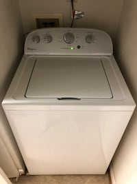 White top-load clothes washer Chesapeake, 23322
