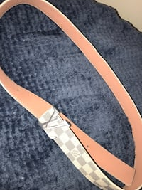 brown and black leather belt Sterling Heights, 48310