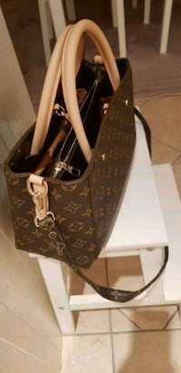 svart och brun Louis Vuitton monogram tote bag Tullinge, 146 30
