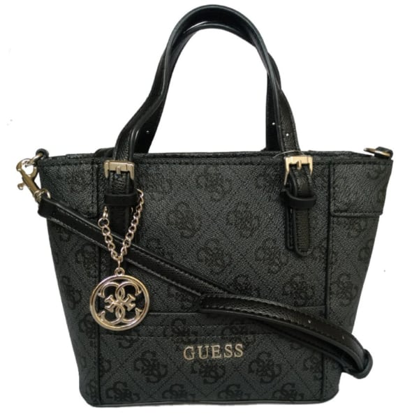 Guess Delaney Mini Monogram Tote Bag [AUTHENTIC]