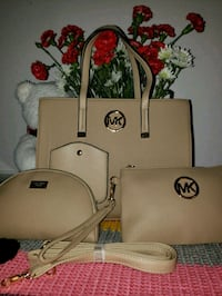 white Michael Kors leather tote bag Falls Church, 22042