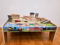 Wooden Train table set Round Rock, 78681