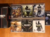 Call of Duty game lot for PS3 Chilliwack, V2R 0A6