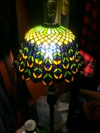 Antique tiffany style stained glass lamp shade Los Angeles