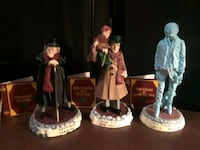 Very collectable all 6 Christmas carol figures and boxes. Hanahan, 29410