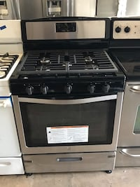 "New Whirlpool 30"" stainless steel 5 burners gas stove 6 months warranty  Baltimore, 21215"