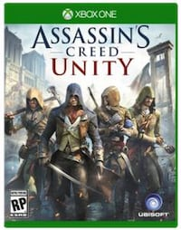 Xbox One Assassins Creed Unity-spillveske Trondheim, 7030