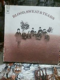 Blood Sweat and Tears vinyl album Great Falls, 59401