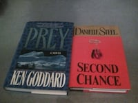 Prey by Ken Goddard and Second Chance by Danielle Steel book St. John's, A1S 1L7