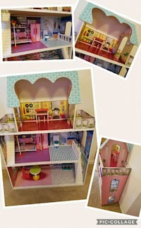 3ft dollhouse with accessories  Harker Heights, 76548