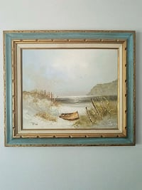 Hand painted on canvas. From 1880 - 1930 Denver, 80224