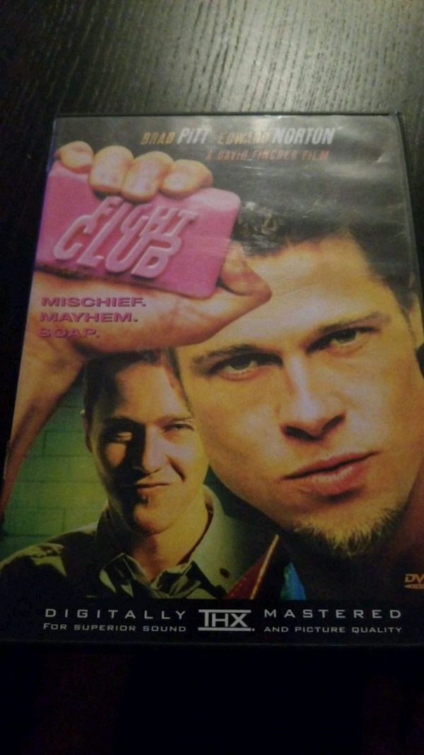 fight club dvd  Used Fight Club DVD for sale in Rahway - letgo
