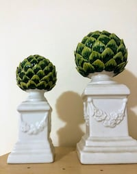Pair of decor piece