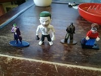 assorted The Joker and Batman character minifigs