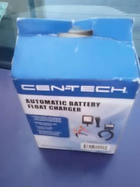 Cen-tech automatic battery float charger box Toledo