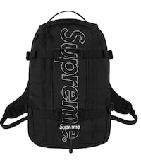 NEW Black Supreme Backpack (Shipping now) Ancaster, L9G 2W6