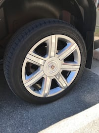 """2015 22"""" Escalade wheels and tires Perryville, 21903"""