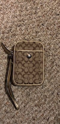 Brown monogram coach cigarette case Dawes, 25075