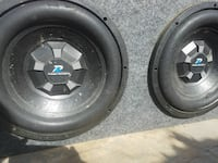 2 Power Acoustic 12s and 2000 watt boss amp.