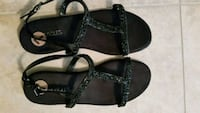 pair of black leather sandals Tarpon Springs, 34689