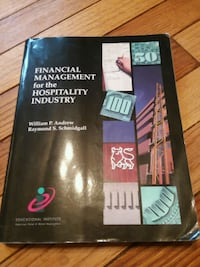 Financial Management for the Hospitality industry Carbondale, 18407