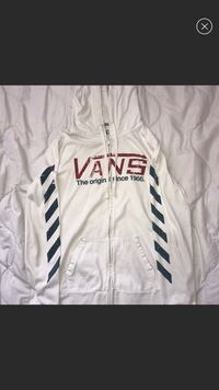 (Juniors) White Vans Jacket San Diego, 92114