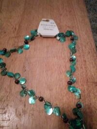 green and white beaded necklace Knoxville, 37920