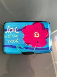Credit Card Case Silver Spring