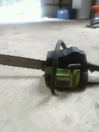 black and green Poulan 3300 chainsaw Stonewall, 71078