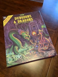 TSR Dungeons and Dragons boxed set Channahon
