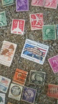 assorted color of postage stamps Aliso Viejo, 92656
