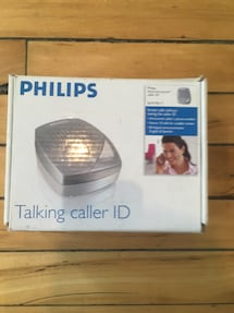 Philips  Caller ID with Voice Announce.