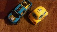 two yellow and blue car toys El Paso, 79924