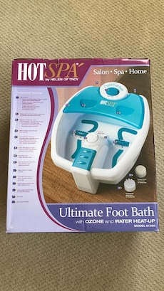 Hot Spa Ultimate Foot Bath In Sterling Letgo