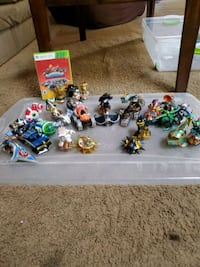 Skylanders Superchargers X360 game figures
