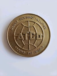 1970s/80s Vintage ATCO Industries Solid Medallion  Calgary, T2R 0S8
