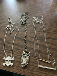 3 necklaces $10 Firm For All will not seperate