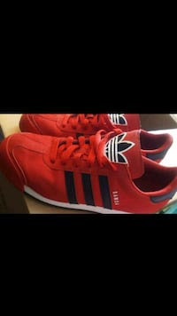 red-and-black Adidas low-top sneakers Seattle, 98101