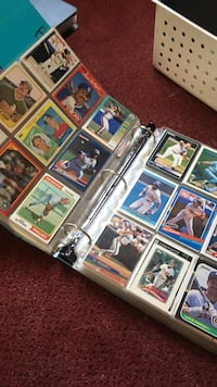 Baseball player trading card collection Ottawa