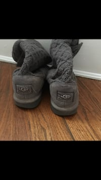 pair of gray UGG Classic Cardy boots New Tecumseth, L0G