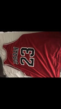 red and white Chicago Bulls 23 jersey North Las Vegas, 89081