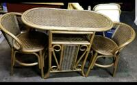 Small wicker/rattan dining set South Haven, 49090