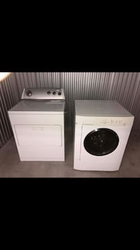 white front-load clothes washer and dryer set Denver, 80231