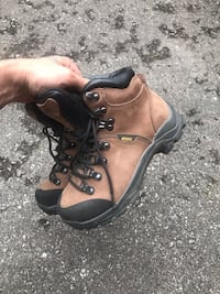 Steel Toe Boots Size 5 Worn Once Toronto, M9N 1J3